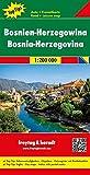 Bosnien-Herzegowina, Autokarte 1:200.000, Top 10 Tips, freytag & berndt Auto + Freizeitkarten