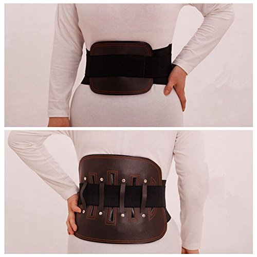 [Heat Waist Belt Brace Lumbar Disc Elastic Steel Sheet Fitted Supporting, Major In Patients With A Suitable For Office Staff, Elderly, Crymodynia And Protrusion Patients.] (Loggers And Joggers Costume)