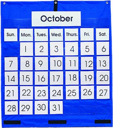 Carson Dellosa Monthly Calendar Pocket Chart Pocket Chart (5605) (Monthly Pocket Chart)