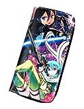 Gumstyle Sword Art Online Anime Zipper Wallet Long Clutch Purse Coin Pocket 3