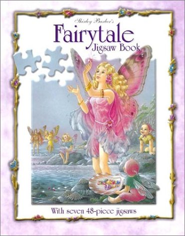 Shirley Barber's Fairytale Puzzle Book - Fairy Tale Jigsaw Puzzle Book