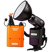 NEEWER AD-360 360W External Portable Flash Light Speedlite with PB960 Lithium Battery Pack for Canon 580EX II, 580EX, 550EX, Nikon SB-900 SB-800 SB-80DX SB-28DX SB-28 SB-27, Sony HVL-F58AM HVL-F43AM, Metz Flash