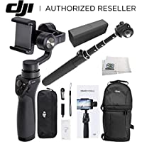 DJI OSMO M Mobile Handheld Stabilized Gimbal for Smartphones Pro Bundle