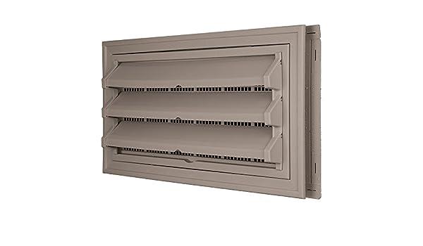Constructores borde 140036410008 Fundación Kit de ventilación - Anillo Embellecedor y persiana fija Opción (moldeado Protector de) 008, arcilla: Amazon.es: ...