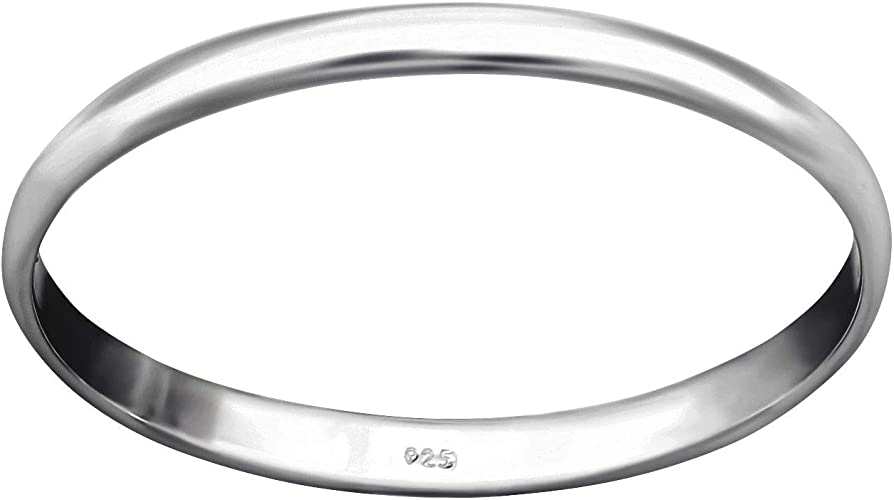 Customisable Your Message Engraved Free So Chic Jewels 925 Sterling Silver 4 mm Linear Pattern Wedding Band Ring