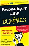 img - for Personal Injury Law for DUMMIES book / textbook / text book