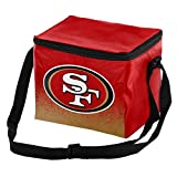 Forever Collectibles NFL Unisex Gradient Print Lunch Bag Coolergradient Print Lunch Bag Cooler, San Francisco Ers, Standard