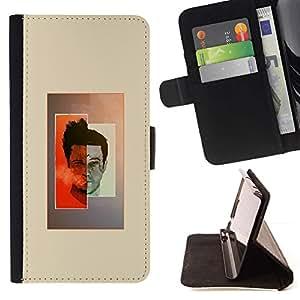 Momo Phone Case / Flip Funda de Cuero Case Cover - Fight Club Ilustración;;;;;;;; - Apple Iphone 5C