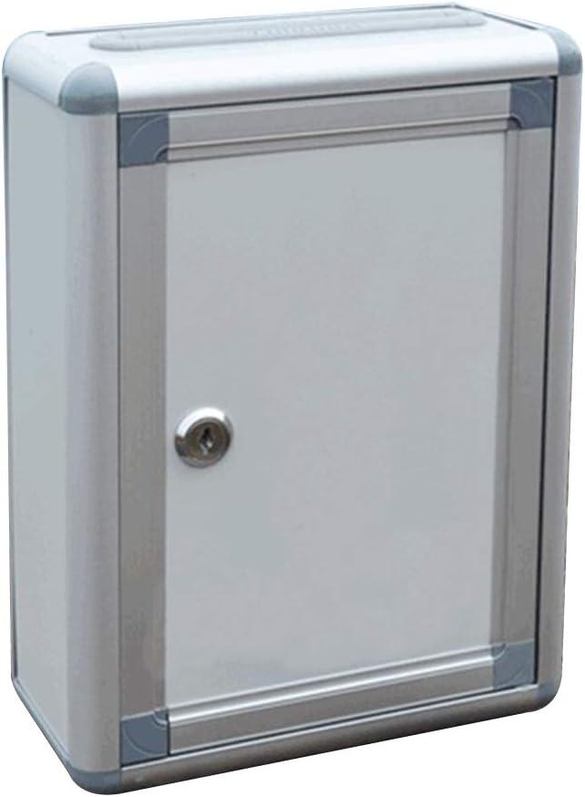 YeahiBaby - Sugerencia pequeña con Cerradura para Colgar en la Pared (aleación de Aluminio)