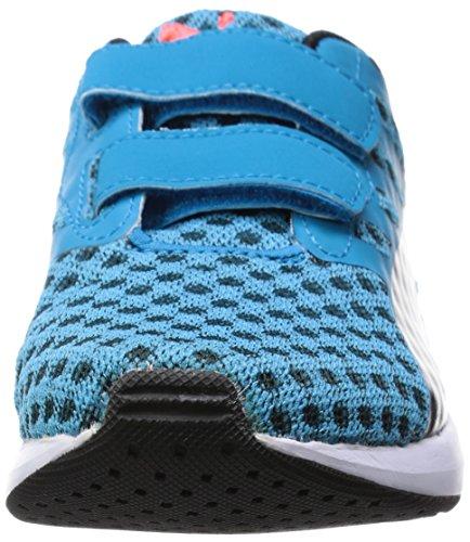 Puma KDS FLARE V Chaussures Mode Sneakers Bebe Bleu Noir PUMA