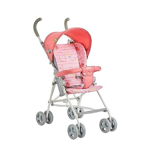 GZF Cochecito de Bebé de Confort Cochecito de bebé, mini carro plegable portátil ligero de