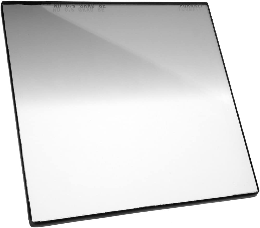 Formatt Hitech Glass 5.65x5.65 broadcast and film production 144x144mm for video compatible with all 5.65x5.65 matte boxes Neutral Density Grad 0.6 Soft Edge 2 stops