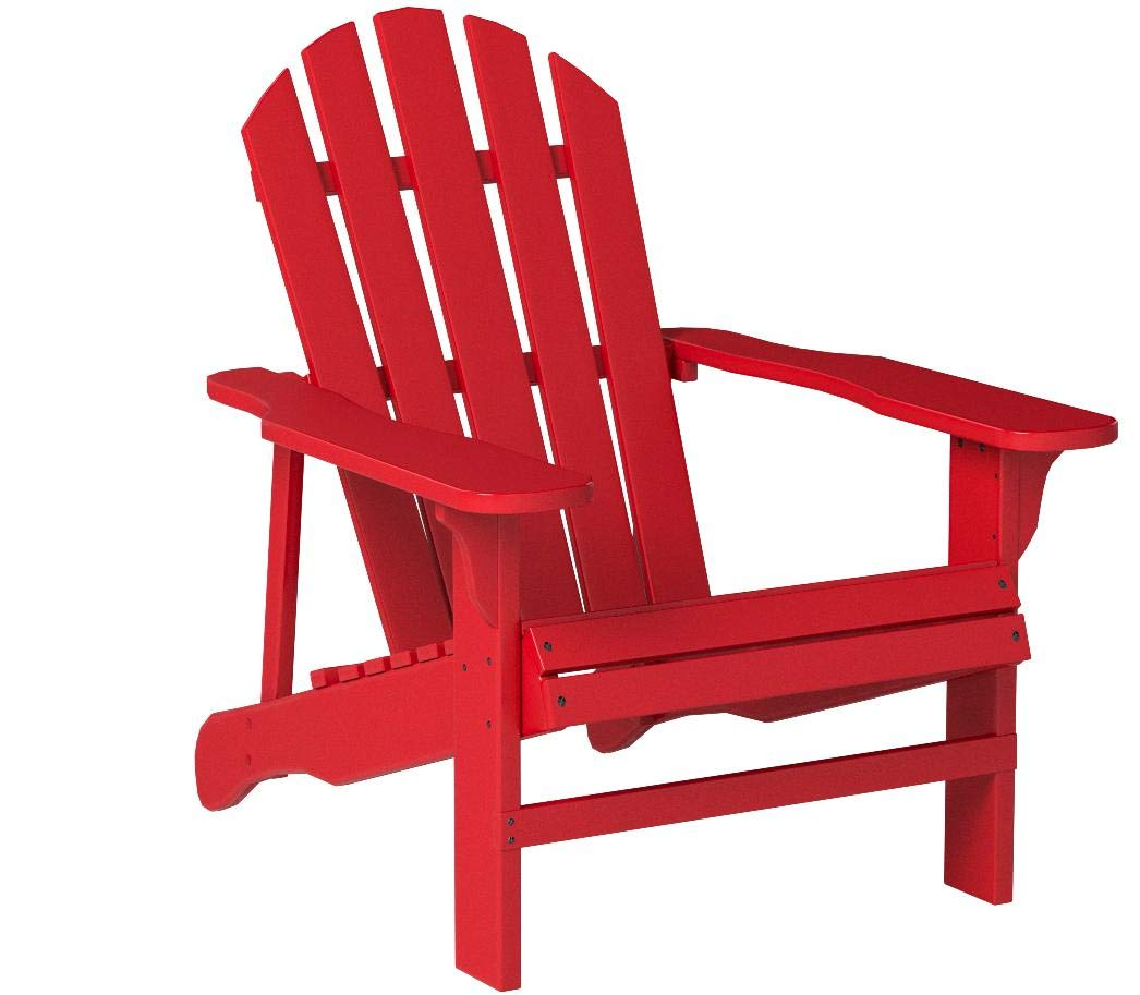 Leigh Country TX 94050 Adirondack Chair, Red by Leigh Country
