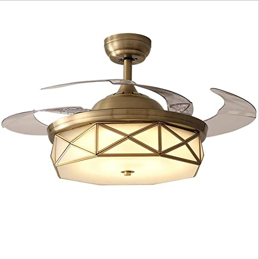 Luz del ventilador de techo De techo moderna Luz del ventilador ...
