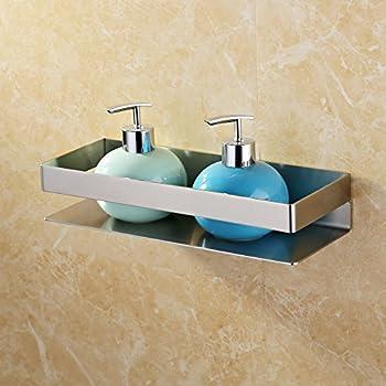 Amazon.com: Kes Bathroom Shelf Stainless Steel Bath Shower Shelf ...