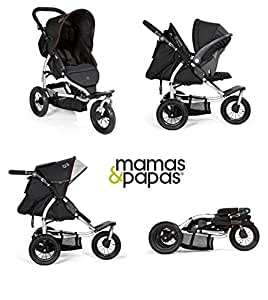 Amazon.com : Mamas and Papas 03 Sport Stroller in Black