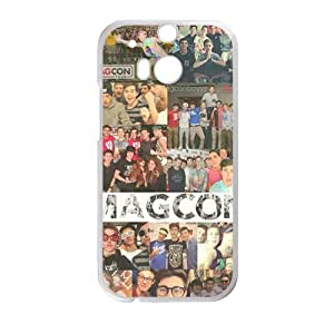 Happy Magcon people gather picture Cell Phone Case for HTC One M8