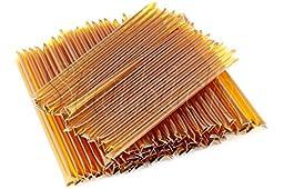 Stakich Honey Stix - Wildflower - 100% Pure, Unfiltered U.S. Grade A Honey, 100 Sticks / 500g - Kosher Certified