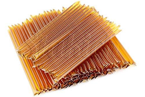 Stakich 100 HONEY STIX (Sticks, Straws) - 100% Wildflower Honey, 500g - (Wild Stix)