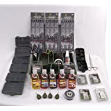 Carp Fishing Tackle Box Set With Leads Liquid Flavours PVA Rigs Shots & More NGT