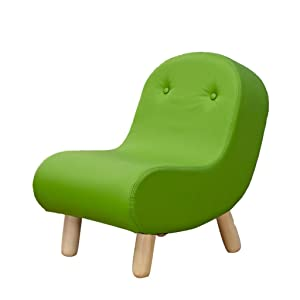 YE ZI Children's Sofa - Children's Comfortable Chair Cute Cartoon Sofa Comfortable and Light Sturdy and Durable (Color : Green)
