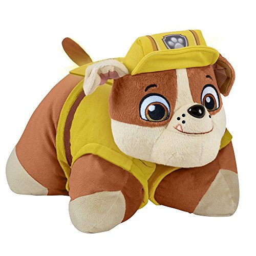 Nickelodeon Paw Patrol Pillow Pets - Rubble Dream Lites S...