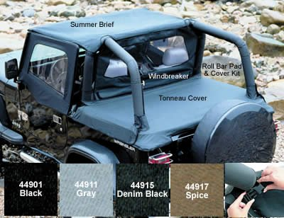 92 jeep yj hard top - 6