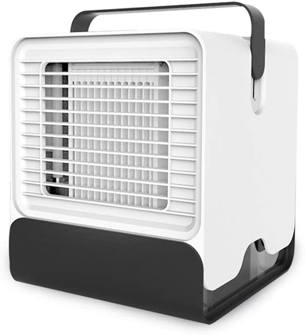 Refrigeration Small Fan Moving Water-Cooled air-Conditioning Fan Mini Chiller Small USB Interface Portable Refrigeration Artifact Color : White, Size : One Size