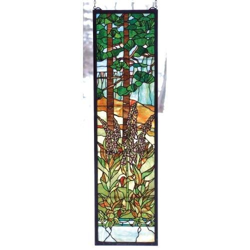 Tiffany Foxgloves Window Panel 44