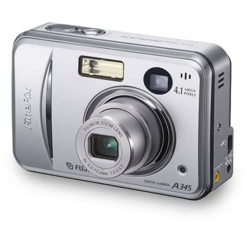 Fujifilm Finepix A345 4.1MP Digital Camera with 3x Optical Zoom (OLD MODEL)