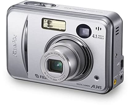 amazon com fujifilm finepix a345 4 1mp digital camera with 3x rh amazon com Fujifilm Camera FinePix JX 650 Fujifilm FinePix Z Manual