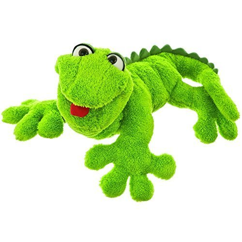 Gecko Lizard Hand Body Puppet by Living Puppets