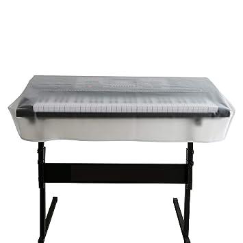 HANSHI 61/76/88 Funda para teclado de piano, impermeable, a ...