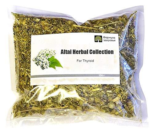 Russian Monastery herbal tea for Thyroid related problems Altai Siberian folk monastic tea 150 gm. ()