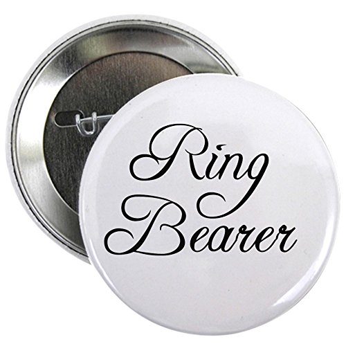 CafePress Ring Bearer Button 2.25
