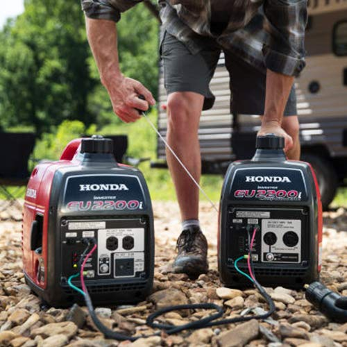 Honda EU2200i 2200-Watt Super Quiet Gas Power Portable Inverter Generator