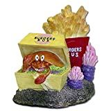 Blue Ribbon Pet Products Exotic Environments Burger & Fries Aquarium Ornament