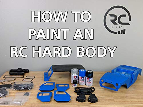 Clip: How To Paint An RC Hard Body (Tamiya Trucks)
