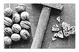 Tree26 Indoor Floor Rug/Mat (23.6 x 15.7 Inch) - Nutcracker Hammer Nutshell Diet Health Macro