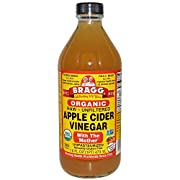 Certified Bragg Organic Raw Apple Cider Vinegar is unfiltered, unheated and unpasteurized.  Aged in wood, this Apple Cider Vinegar is a wholesome way to add a delicious flavor to most foods, salads, veggies and even popcorn.