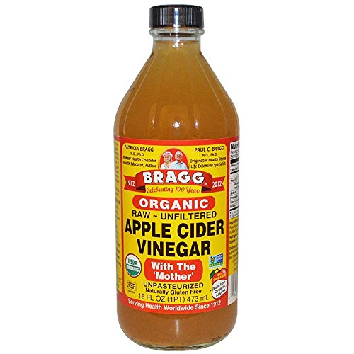 Bragg Organic Raw Apple Cider Vinegar, 16 Ounce - 1 Pack