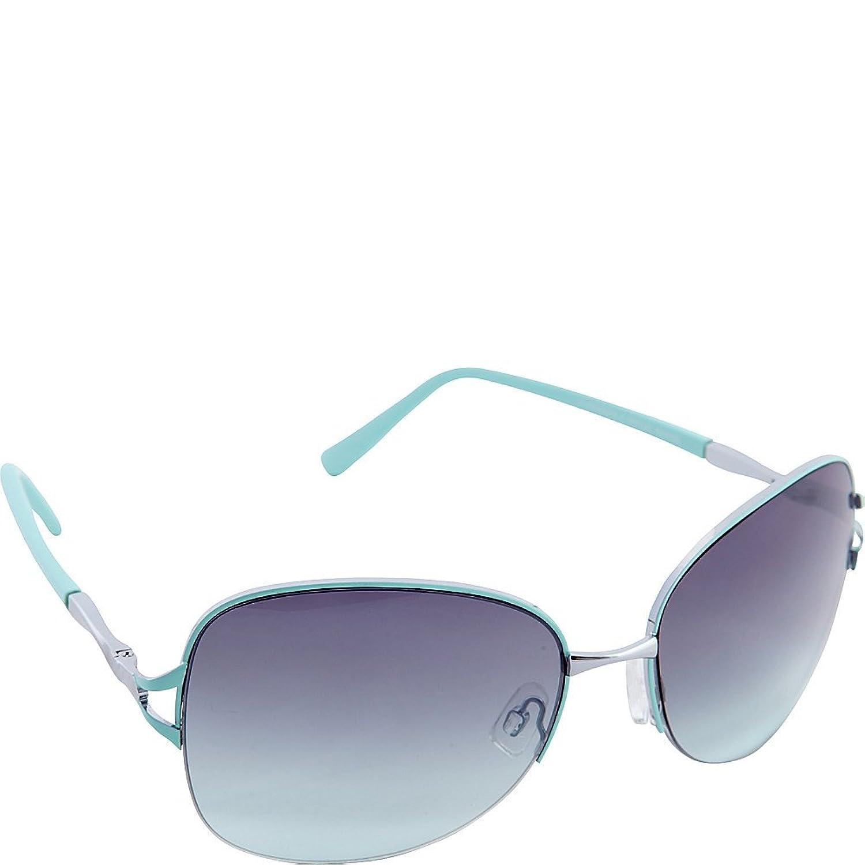 Nanette Nanette Lepore Sunglasses Semi Rimless Frame Sunglasses