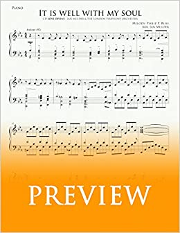 It Is Well With My Soul Solo Piano Pdf Digital Sheet Music