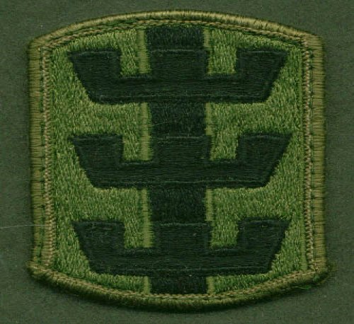 US Army 130th Engineer Brigade SSI subdued patch ()