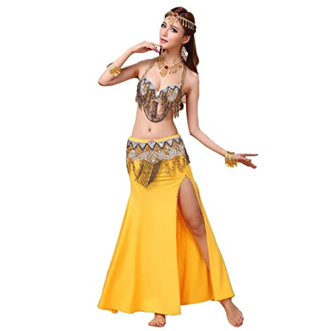 LULUVicky-WMDress Traje de Danza del Vientre Belly Dance ...