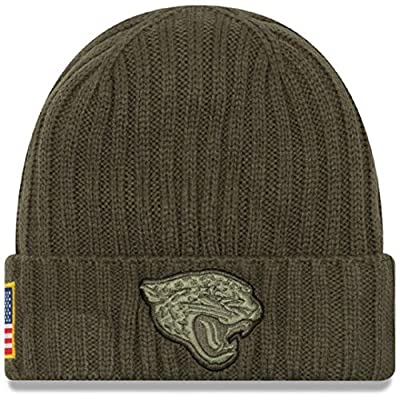 New Era Hat jacksonville jaguars Salute to Service NFL On field Headwear Knit