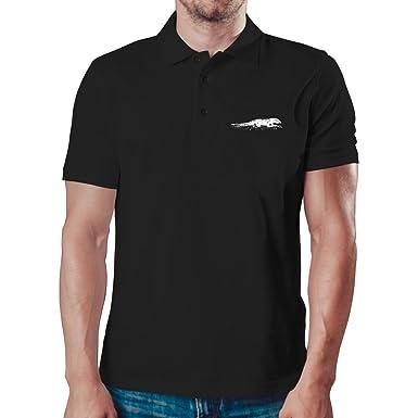 Eddany Komodo Dragon sketch Polo Camisa: Amazon.es: Ropa y accesorios