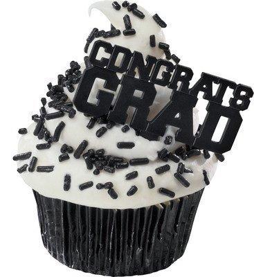 - Congrats Grad Cupcake Picks (24-Pack)