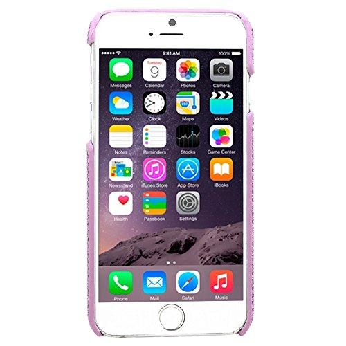 Phone Taschen & Schalen Für IPhone 6 & 6S, Shimmering Powder Galvanisieren Kunststoff Hard Case ( Color : Purple )