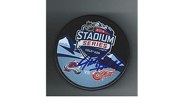 Jeff Blashill Signed 2016 Stadium Series Detroit Red Wings Puck -  Autographed NHL Pucks at Amazon s Sports Collectibles Store 4ac700ea2